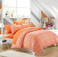 Orange And White Comforter Set Rise U0026 Shine Orange And White Comforter U0026 Bedding Sets