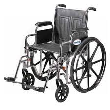 Drive Wheel Chair Drive 22 Inch Sentra Ec Bariatric Standard Dual Axle Wheelchair