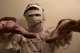 how to make a mummy costume 5 steps with pictures