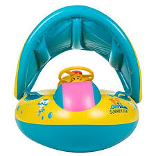 siege enfant gonflable toaob bouée bébé flotteur bateau anneau de natation siège gonflable