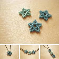 make necklace with beads images Beaded stars how did you make this luxe diy jpg