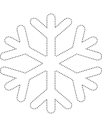snowflake coloring pages kids coloringstar