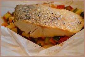 cuisiner un sandre papillote de filet de sandre légumes ratatouille le cahier de