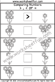 number u2013 comparing free printable worksheets u2013 worksheetfun