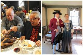 18th century thanksgiving dinner at the webb deane museum