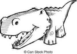 eps vector of doodle sketch cute alligator vector illustration art