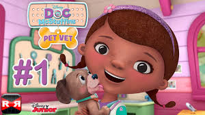 doc mcstuffins pet vet disney ios android gameplay