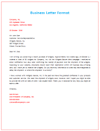 examples of inquiry letters for business 6 samples of business letter format to write a perfect letter