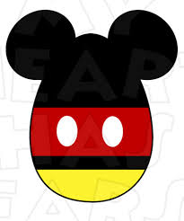 mickey mouse easter egg instant download digital clip art my