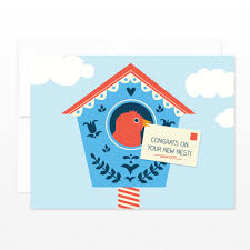 congrats on new card sale new home card birdhouse card moving card new