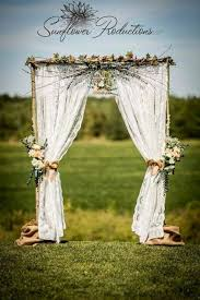 wedding arch lace a glimpse into the timber framed domes 2017 season rustic