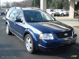 Ford Freestyle Car 2005 Dark Blue Pearl Metallic Ford Freestyle Limited Awd 62596238