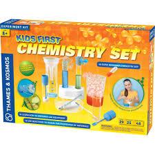 thames u0026 kosmos kids first chemistry set science experiment kit