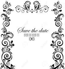 wedding invitations borders wedding invitation borders amulette jewelry