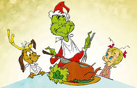 thanksgiving dinner cartoon pics celebrate the 50th anniversary of how the grinch stole christmas