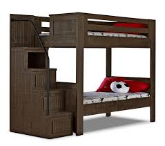 Phoenix Walnut Twin Staircase Bunk Bed Staircase Bunk Bed Bunk - The brick bunk beds