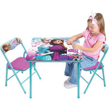 kids table and chairs walmart disney frozen activity table set walmart com