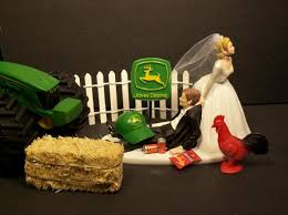 deere cake toppers farming wedding cake topper cake toppers no farming deere