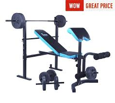 Collapsible Weight Bench Buy Men U0027s Health Folding Workout Bench With 35kg Weights At Argos