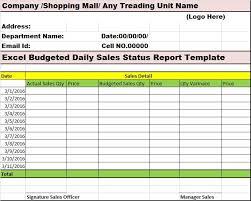 excel sales report template free sales status report template sle sales activity report