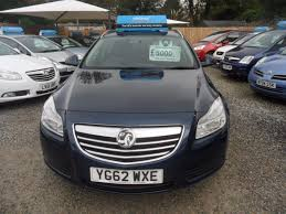 vauxhall insignia estate used blue vauxhall insignia for sale devon
