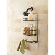 mainstays premium over the shower caddy bronze walmart com