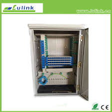 china fttcab outdoor optical fiber cross connection cabinet 576