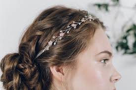 headband across forehead how to wear a flower crown and what to do if your fresh flowers