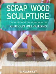 scrap wood sculpture scrap wood sculpture for tinkerlab