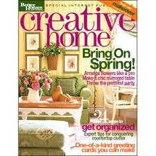 Home Decorating Magazine Creative Home