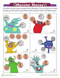 23 best coin worksheets images on pinterest coins money