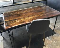 reclaimed wood desk for sale sale ready to ship free shipping reclaimed wood desk mt vernon