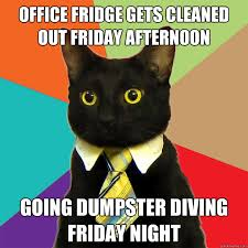 Fridge Meme - office fridge gets cleaned cat meme cat planet cat planet