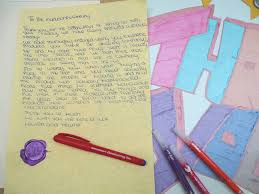 writing parchment paper duotips and handwriting pens before going back to school manuscript the good copy writing with manuscript blue handwriting pen on parchment paper and purple butterfly seal