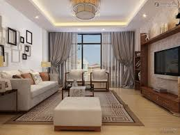 Grey Living Rooms by Interior Elegant Solid Grey Living Room Drapes With Holders For