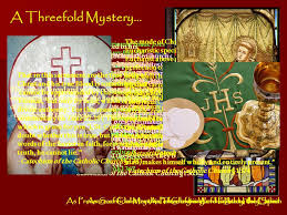 source and summit the eucharist and catholic ppt
