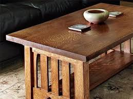 project build a mission coffee table woodworking blog