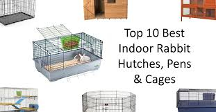 top 10 indoor rabbit hutches pens u0026 cages