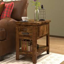 loon peak end table storage chest coffee table awesome loon peak archstone end table