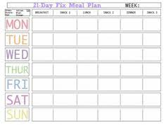 printable blank meal planner free printable weekly meal planning templates and a week s worth of