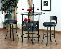round bar table and stools home bar tables and stools medium size of engaging small rectangular