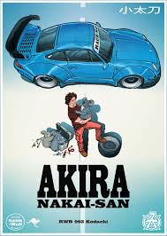 porsche poster akira poster with nakai san u0026 rwb 993 kodachi on behance