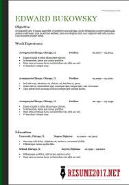 a resume format for a resume format 2018 16 templates in word
