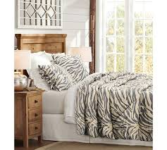 Request Pottery Barn Catalog Gray Zebra Comforter U0026 Sham Pottery Barn