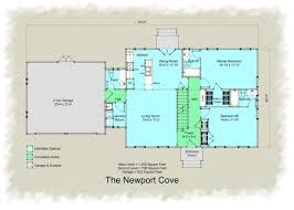 cape cod colonial revival house plan traditional style