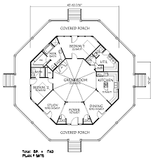 house plan ideas small octagon house plans 597