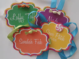 Candy Labels For Candy Buffet by 73 Best Candy Buffet Labels U0026 Tags Images On Pinterest Candy