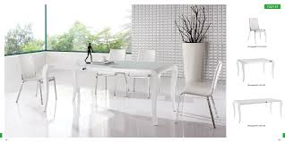White Modern Dining Room Sets Modern White Dining Room Table Brucall Com
