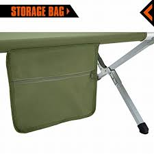 Portable Folding Bed Kingcamp Lightweight Portable Folding Deluxe Camping Bed With