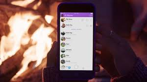 snapchat adapts stories for groups